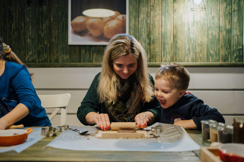 Mikołajkowe warsztaty kulinarne dla dzieci w Ziemniakowelove